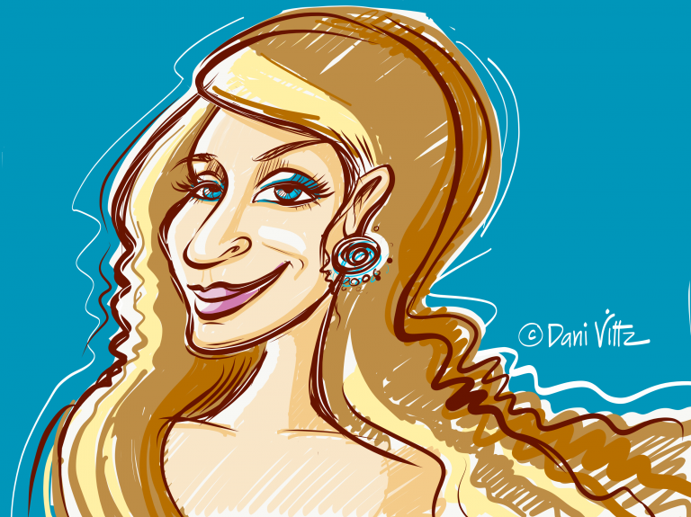 Portrait Long Hair Fem