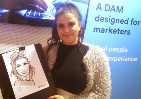 Adstream Live Caricatures B