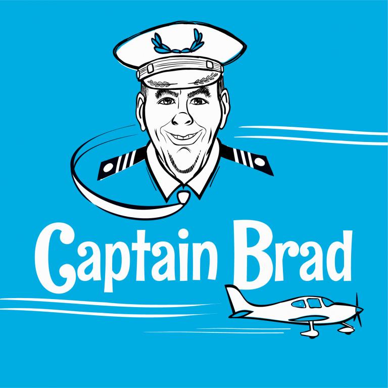 Captain Brad social media