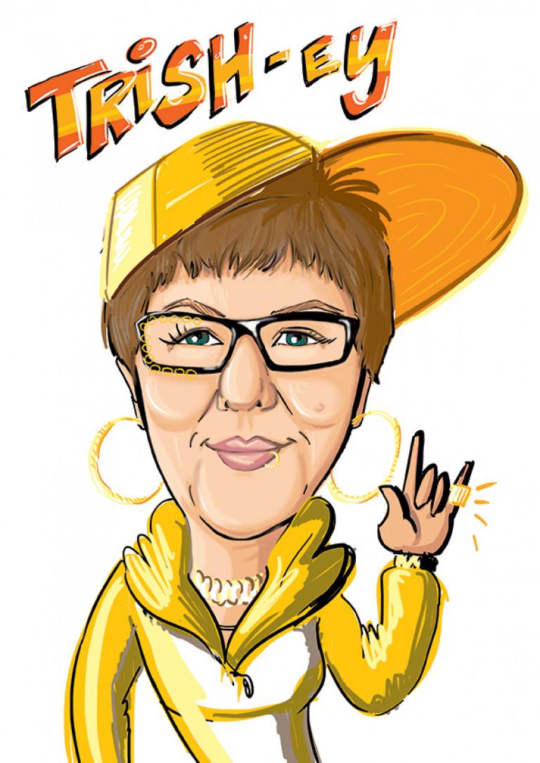 RRP Hip Hop Digi Caricature