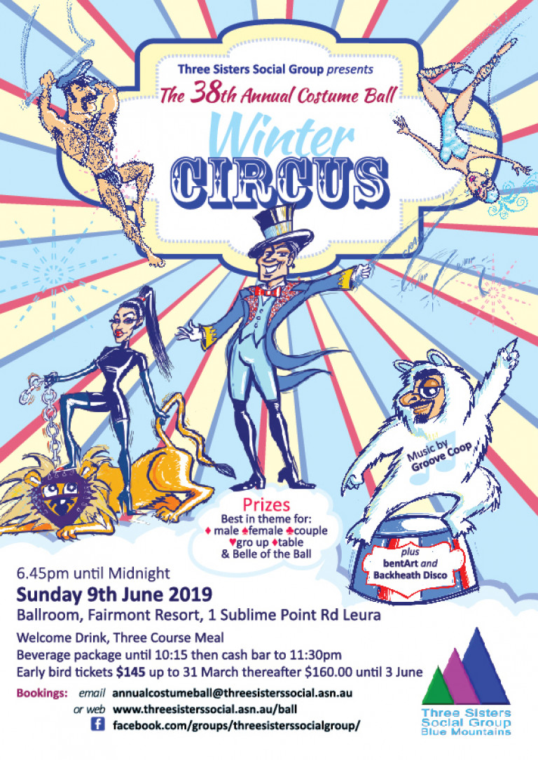 Winter Circus Ball Flyer