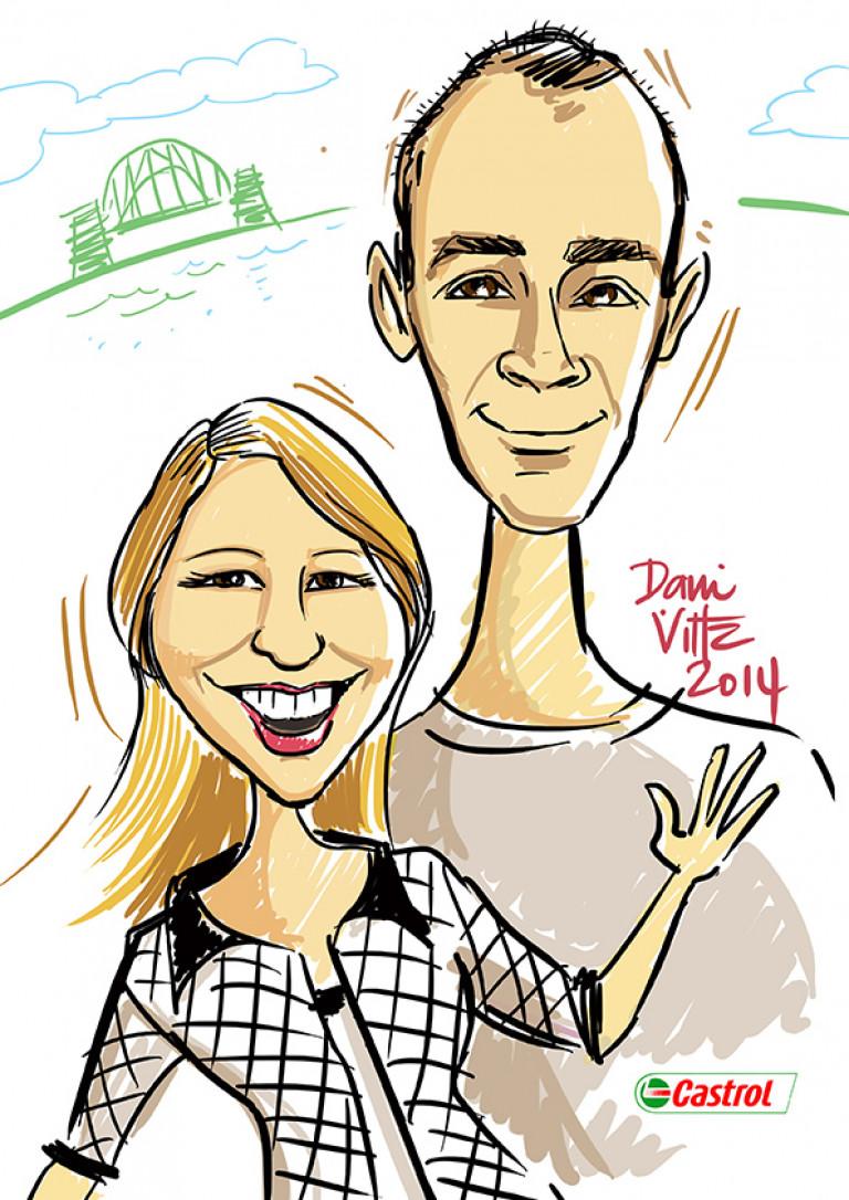 Couple Digi Portrait