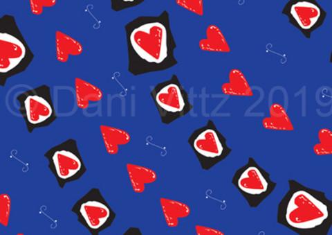 Wrap hearts