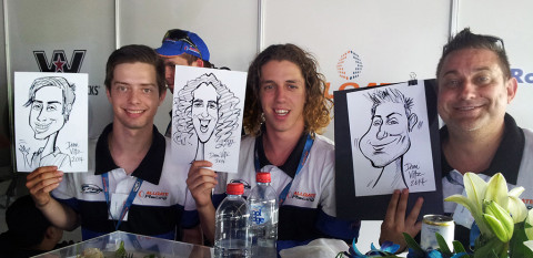 Live Caricature Homebush
