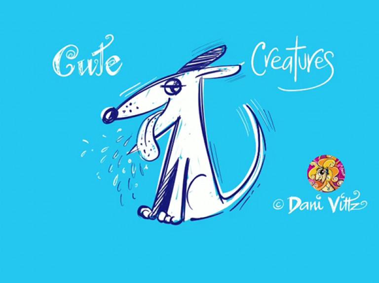 Blue Dog Animation