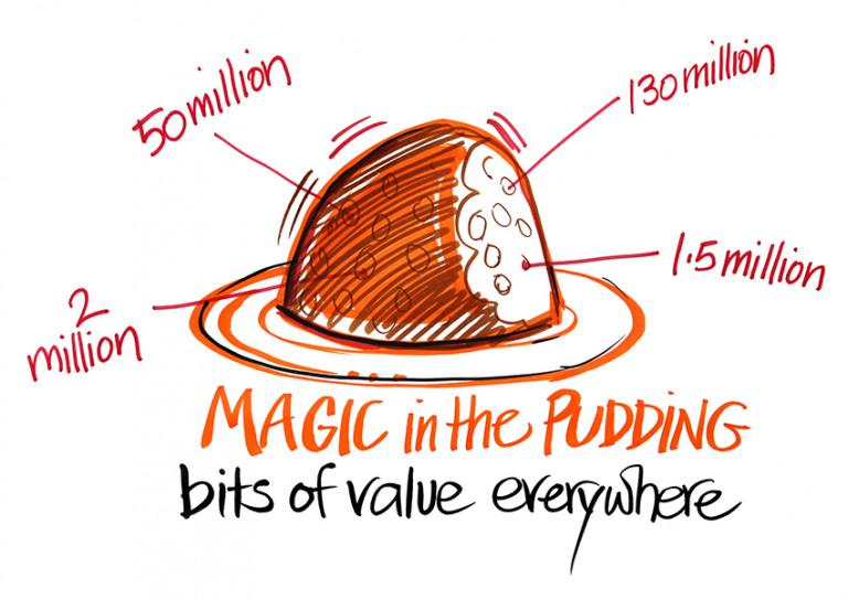 Snowy Hydro magic pudding